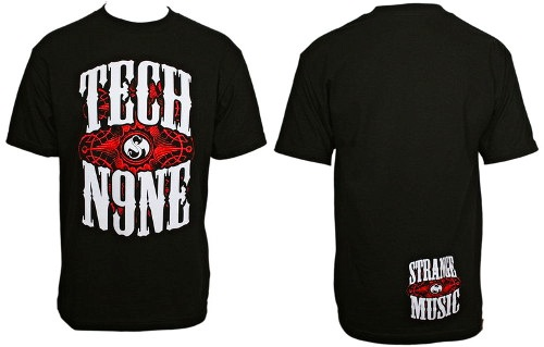 Tech N9ne Black Monster Made It T-Shirt
