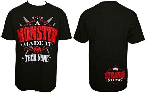 Tech N9ne Monster Made It T-Shirt