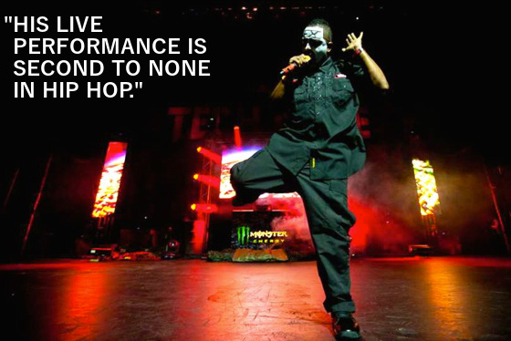 Immaculate Tech N9ne Quote