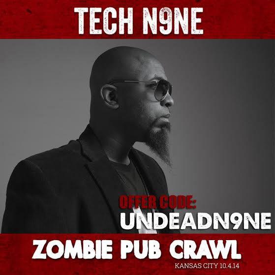 Tech N9ne Zombie Pub Crawl
