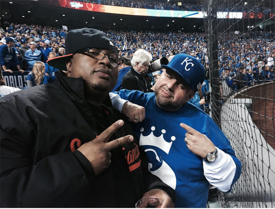 E40 And Travis O'Guin World Series Game 6
