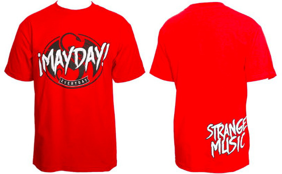 Mayday Red Everyday T-Shirt