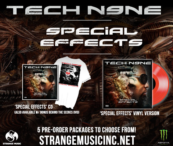 Tech N9ne Special Effects Splash