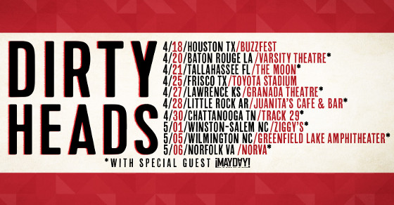 Dirty Heads ¡MAYDAY! Tour