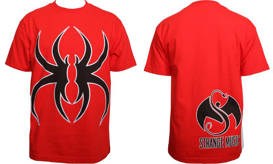 Krizz Kaliko Red Spider K T-Shirt