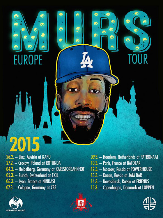 MURS European Tour Dates 2015