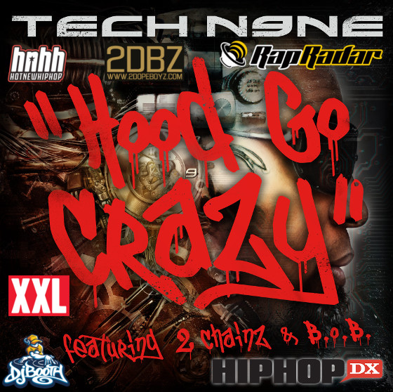 Tech Hood Go Crazy Collage