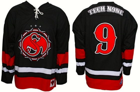 Tech N9ne - Black Stealth Hockey Jersey