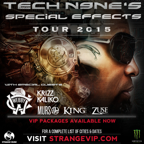 Tech N9ne SFX Tour
