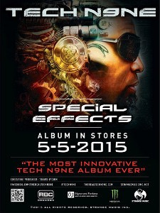 Tech N9ne - Special Effects Poster