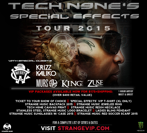 Tech N9ne Special Effects Tour