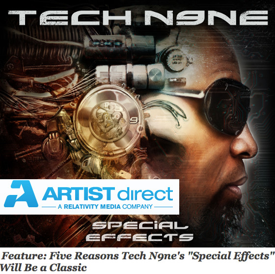 Special Effects Cover Artist Direct