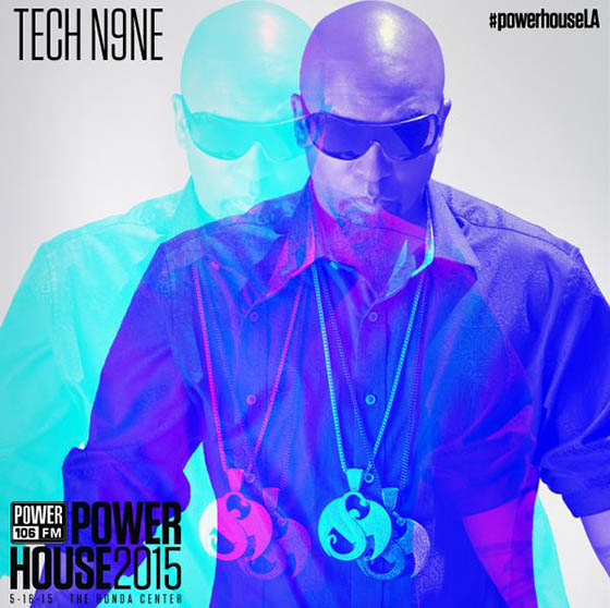 Tech N9ne Powerhouse 2015