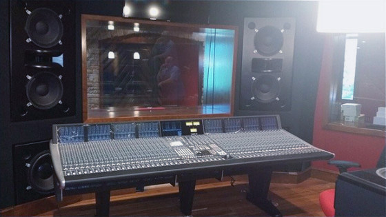 The SSL Duality Console At Strangeland Studios