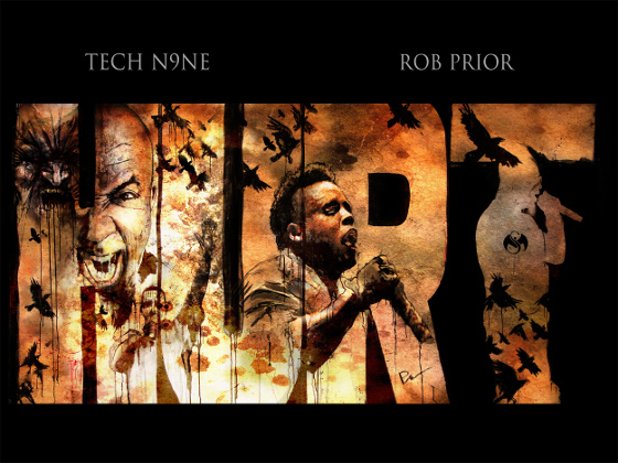 "Tech N9ne - ""Hurt"" by Rob Prior"