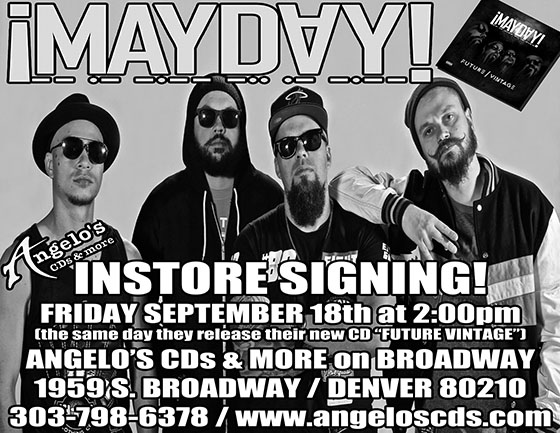 Mayday In Store 2015