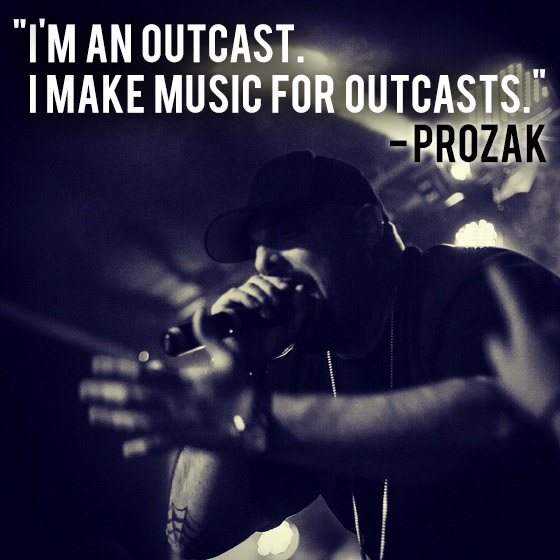 Prozak outcast quote