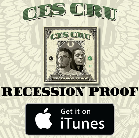 RECESSION PROOF iTunes