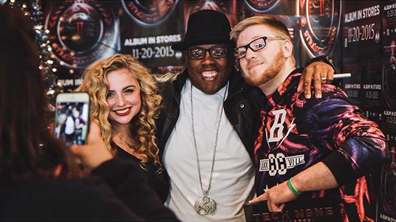 Mackenzie OGuin Krizz Kaliko and Fan
