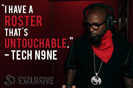 TECH N9NE INTERVIEW!!!