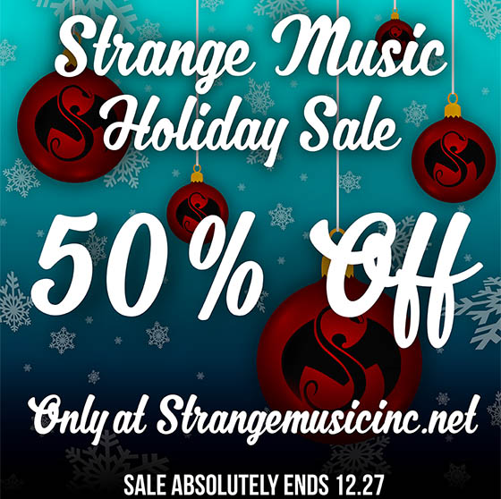 strange music holiday sale