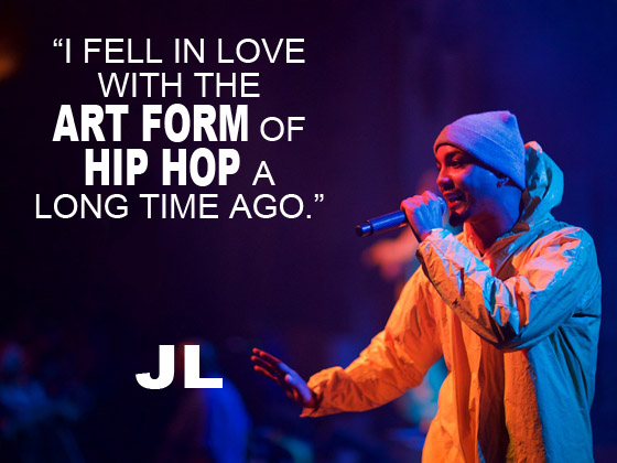 JL - Hip Hop Art Form Quote