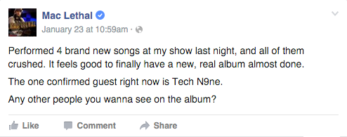 Mac Lethal FB Tech N9ne