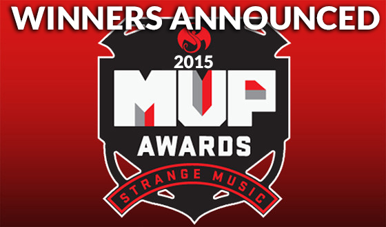 Strange Music 2015 Awards winners