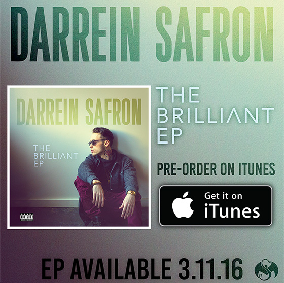 Darrein Safron The Brilliant EP