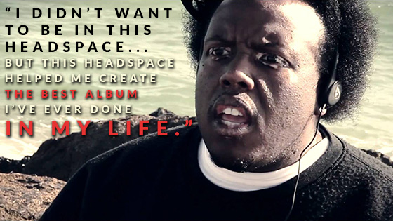 Krizz Kaliko Headspace Quote