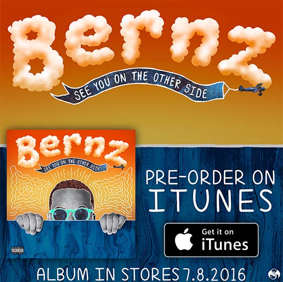 iTunes preorder Bernz for blog