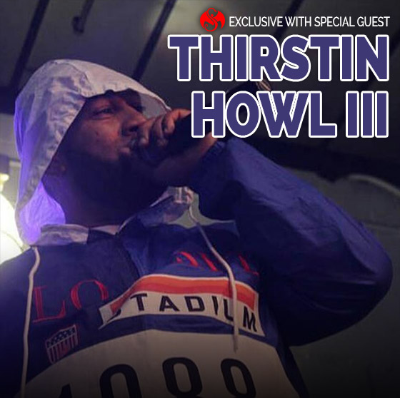Thirstin Howl III - blog header