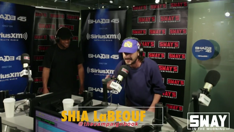 Shia LaBeouf Freestyle On Sway